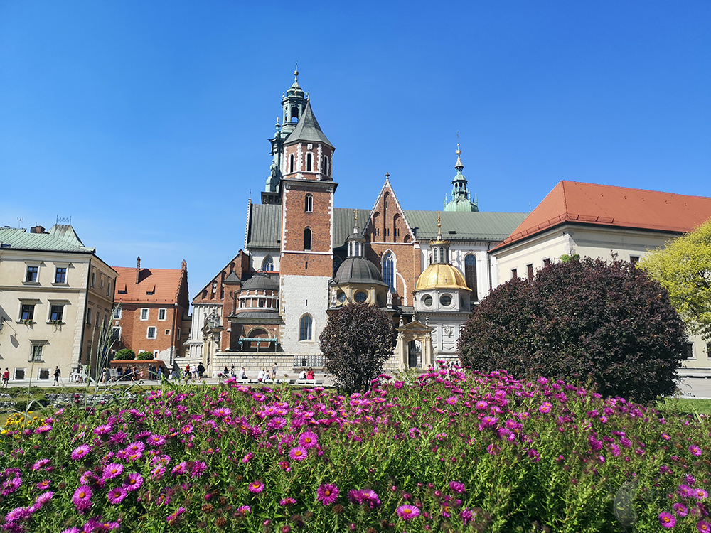 A picture of the Wawel Cathedral.